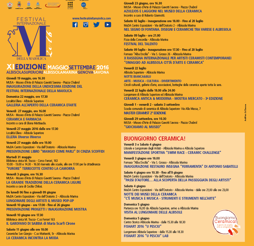 Festival Internazionale Maiolica